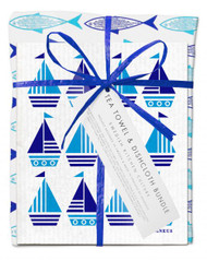 Bundle - Blue fish/Turquoise Boat