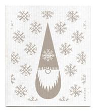 Swedish Dishcloth - Tomte - Grey