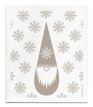 Swedish Dishcloth - Tomte - Grey