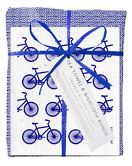 Bundle - Blue Leaves- Blue Bikes