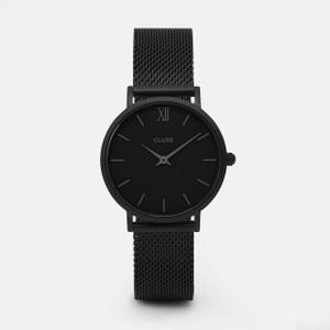 Cluse Minuit Mesh Full Black Watch