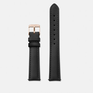 Cluse 16mm Watch Strap Rose Gold/Black