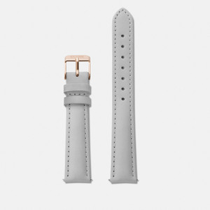 Cluse Minuit Watch Strap Grey/Rose Gold