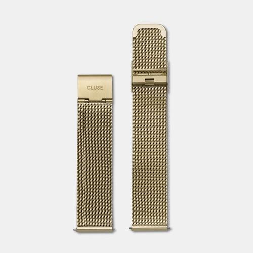 Cluse Minuit Strap Mesh Gold CLS346
