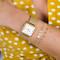 Cluse La Garconne Gold Mesh/White Watch