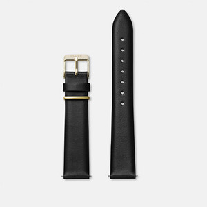 Cluse La Garconne Watch Strap Black/Gold CLS602