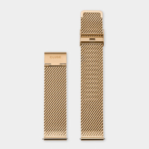Cluse 20mm Watch Strap Gold Mesh CS1401101062
