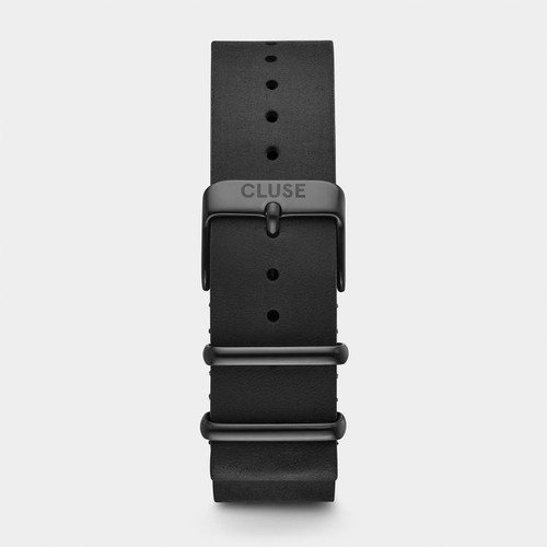Cluse 20mm Nato Watch Strap Full Black CS1408101071