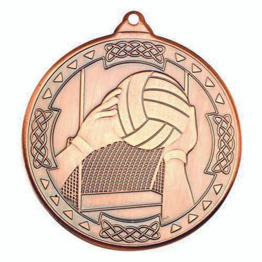 Gaelic Football Celtic Medal - Bronze 2In