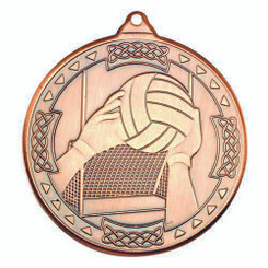 Gaelic Football Celtic Medal - Bronze 2In