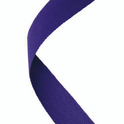 Medal Ribbon Purple - 30 X 0.875In
