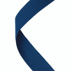 Medal Ribbon Navy Blue - 30 X 0.875In