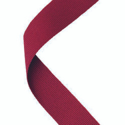 Medal Ribbon Maroon - 30 X 0.875In