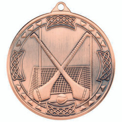 Hurling Celtic Medal - Bronze 2In