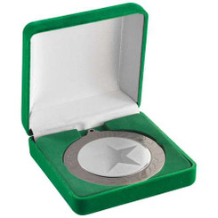 Deluxe Green Medal Box - (50/60/70Mm Recess) - 3.5In