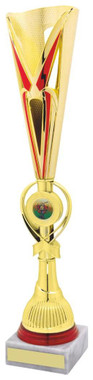 "Red/Gold Sculpture Award - TW18-044-766C - 36cm (14"")"