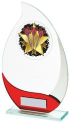 "Jade Glass Darts Award - TW18-076-576ZAP - 21cm (8 1/4"")"