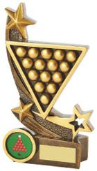"Gold Resin Snooker Award - TW18-078-RS714 - 16cm (6 1/4"")"