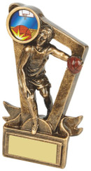 "Gold Resin Basketball Award - TW18-082-RS620 - 11cm (4 1/4"")"