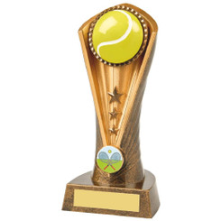 Antique Gold Tennis Cobra Award - 19cm