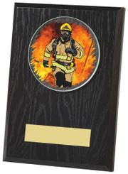"Black Finish Wood Plaque Award - TW18-097-441ZBP - 13cm (5"")"