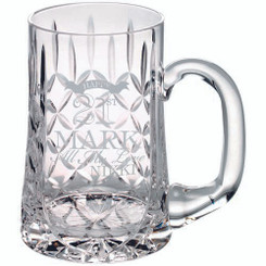 Glass Tankard - 610Ml Blank Panel 5.5In