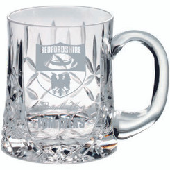Glass Tankard - 435Ml Blank Panel 4In