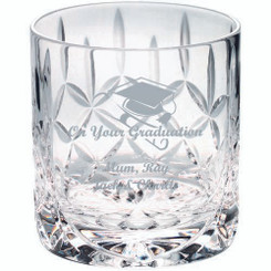 290Ml Whiskey Glass - Blank Panel 3.25In