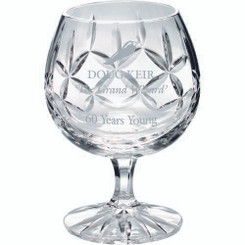 290Ml Brandy Glass - Blank Panel 4.75In