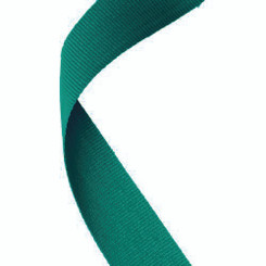 Medal Ribbon Green - 30 X 0.875In