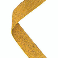 Medal Ribbon Gold - 30 X 0.875In
