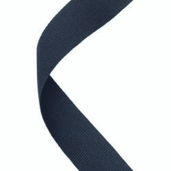 Medal Ribbon Black - 30 X 0.875In