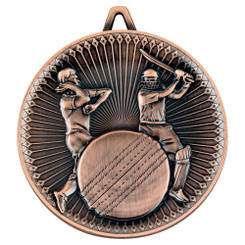 Cricket Deluxe Medal - Bronze 2.35In