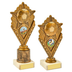 TW20-020-1023BG / Antique Gold Star Football Award