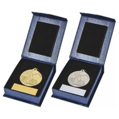 TW20-032-753BG / 45mm Football (M) Medal in Case