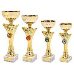 TW20-040-1047DG / Gold Trophy Cup