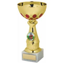 TW20-042-1237DG / Gold/Red Bowl Award