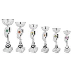 TW20-046-1049FG / Silver/Black Wreath Bowl Award