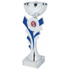 TW20-046-1242DG / Silver/Blue Bowl Award