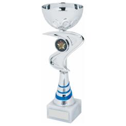 TW20-047-1243FG / Silver/Blue Bowl Award