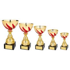 TW20-048-1052EG / Gold/Red Bowl Award