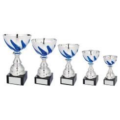 TW20-048-1053EG / Silver/Blue Bowl Award