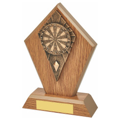 TW20-071-1252CPG / Wood Stand with Resin Dartboard Trim
