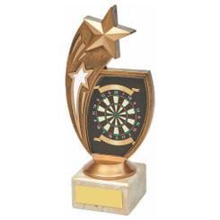 TW20-073-1255CG / Antique Gold Darts Star Award