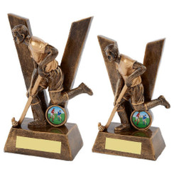 TW20-084-RS504G / Resin Male Hockey Trophy
