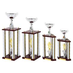 TW20-091-1113DG / Silver Show Stopper Trophy