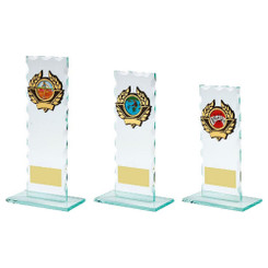 TW20-099-130CPG / Jade Glass Award with Trim