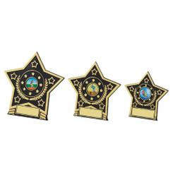 TW20-106-126CG / Black Plastic Star Award