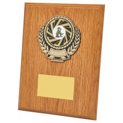 TW20-111-1309CPG / Light Oak Wood Plaque Award