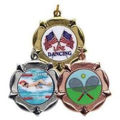 TW20-118-MD525GG / 40mm Tudor Rose Medal